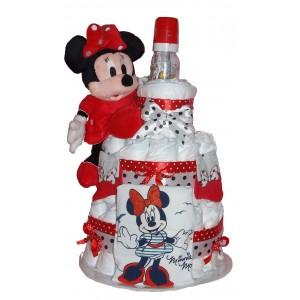 Tort din scutece Dear Minnie