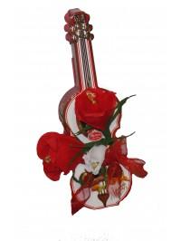 Vioara cu flori