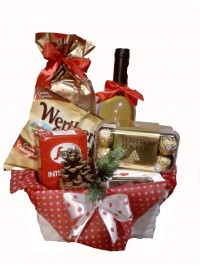 Cos cadou Ferrero Xmas