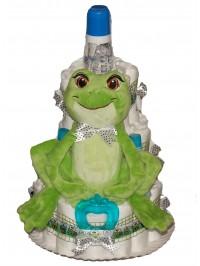 Tort din scutece Froggy Cake