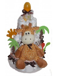 Tort din scutece cu Girafa