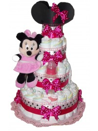 Tort din scutece Minnie Mouse