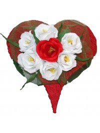 White Flowers from the Heart